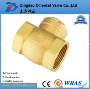 2 Inch Durable Professional Competitive Price Ball Type Brass Spring Check Valve pictures & photos