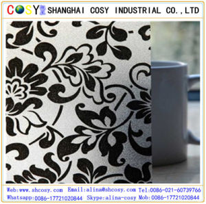 UV Resistant 3D Window Wall Stickers/Static Stained Glass Window Film Frosted with High Quality pictures & photos