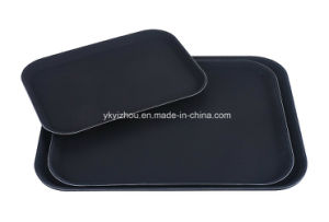 Hotel Fiberglass Non Slip Food Service Tray pictures & photos