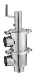 Sanitary Manul Stainless Steel Reversing Valve-Ll Model