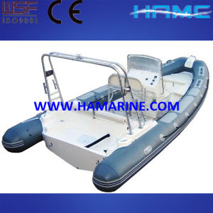 White Rigid Inflatable Boat (Fgd-660)