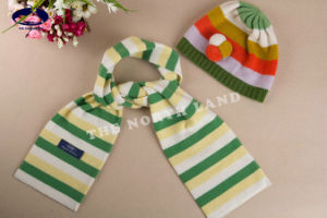 Cashmere Children′s Hat and Scarf pictures & photos