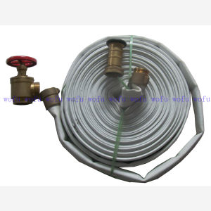 Double Layer White Fire Hose pictures & photos