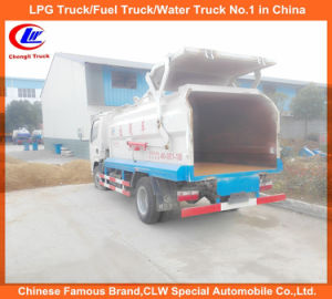 Mini 4X2 Dongfeng Sealed Rear Dump Garbage Truck pictures & photos