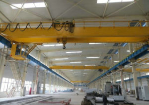 5ton 10t 20t 32t Double Girder Workshop Overhead Crane with Electric Hoist Lifting Machinery pictures & photos