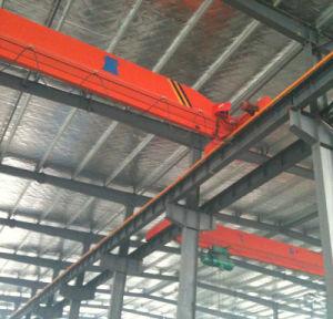 5ton 10ton 15ton 20ton Single Girder Overhead Workshop Crane with Electric Hoist Lifting Machinery pictures & photos