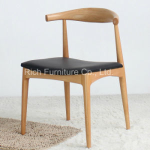Replica Hans J. Wegner Elbow Chair (Wood Dining Chair) pictures & photos