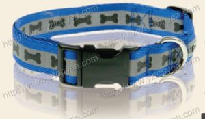 Reflective Printed Nylon Dog Collar, Pet Collar (YD131) pictures & photos