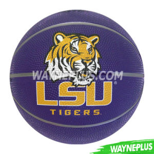 Custom Printed Colorful Rubber Basketball pictures & photos