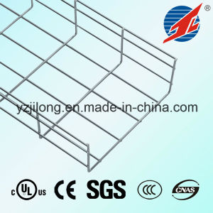 Electric Galvanizing Mesh Cable Tray with ISO9001, UL, CE pictures & photos