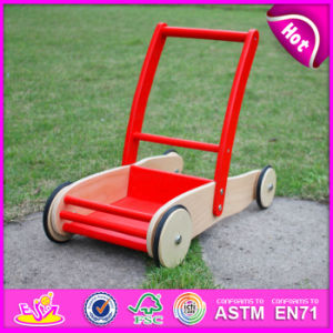 2015 Best Seller Wooden Walker Toy for Kids, Fuuny Play Children Wooden Walker, Top Quality Wooden Walking Toy for Baby W13c013 pictures & photos