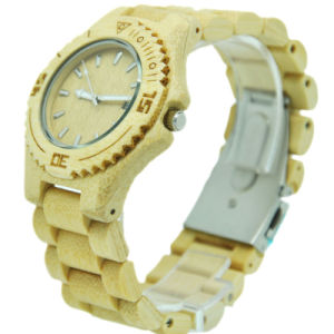 2015 Newest Design Custom Cheap Wood Wrist Watch and Bamboo Wrist Watch for Women pictures & photos