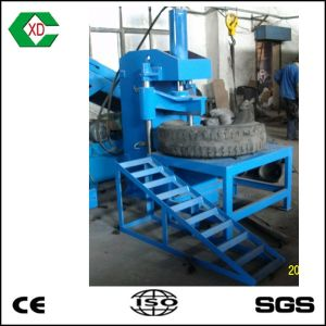 Scrap Tire Recycling Truck Tire Cutting Machine pictures & photos