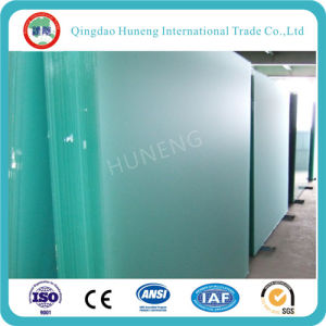 8mm Clear Acid Frosted Float Glass for Glass Door pictures & photos
