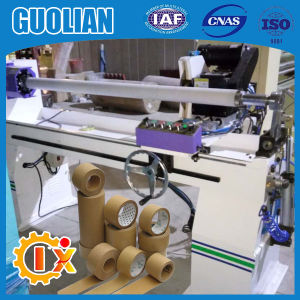 Gl-705 Automatic Carton Sealing Tape Cutting Machine pictures & photos