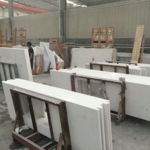 Pure White Quartz Stone Bathroom Countertops pictures & photos