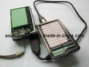 Mini Solar Mobile Charger with LED Light (PETC-S02)