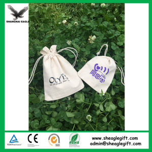 High Quality Promotional Customized Calico Drawstring Bag pictures & photos