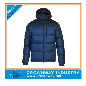 Winter Shiny Down Fashion Jacket for Men pictures & photos