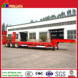 3axles 60-90ton Lowbed Semi Trailer for Sale pictures & photos