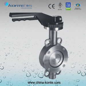D71h-16p High-Performance Hard Seal Double Eccentric Butterfly Valve pictures & photos
