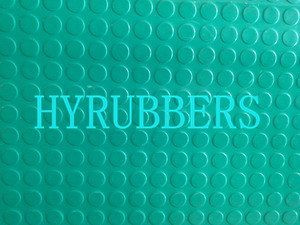 Green Stud Rubber Sheet, DOT Rubber Cirlce Rubber Sheet, Stud Rubber Sheet, DOT Rubber pictures & photos