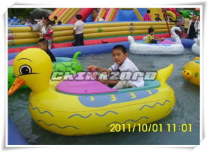Animal Shaped Inflatable Electric Bumper Boat for Kids