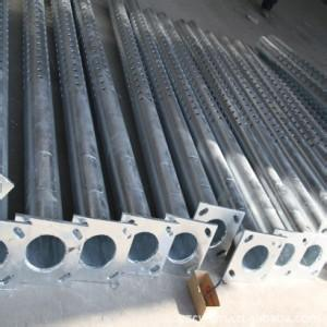 8m Conical Galvanizing Street Lamp Pole From China pictures & photos