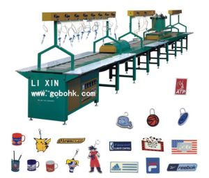High Quality Automatic PVC Trademark Machine Dripping Heating Cooling System pictures & photos