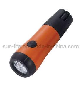3 LED Dynamo Flashlight (DY-2052)