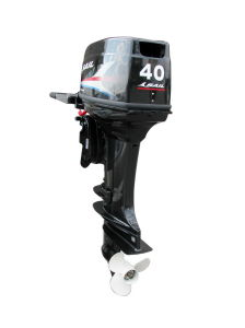 Sail 2-Stroke 40hpoutboard Motor With Electric Start and Tiller Control pictures & photos