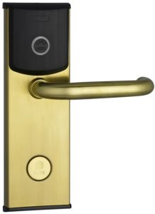 Satin Brass RFID Card Lock (EL216BA-FC)