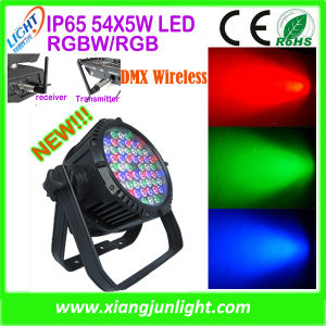 Outdoor 54PCS X 3W LED PAR Disco Lighting DJ Lights pictures & photos
