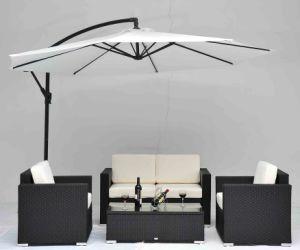 Outdoor Garden Rattan Furniture 5PCS Wicker Sofa Set Bw01