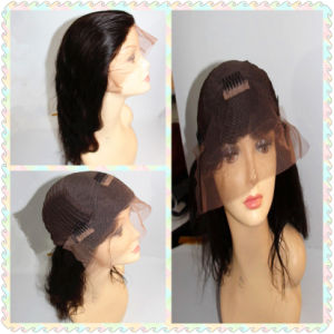Remy Human Hair Lace Front Wig (BHF-140417) pictures & photos
