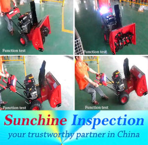 Garden Tools Quality Inspection / Snow Sweeper Quality Control Inspection Services pictures & photos