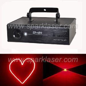 Stage Red Cartoon Laser Disco Light