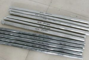 USD46/Kg for Pure Tungsten Rods (WL15 rods) Dia3.0*1100mm in Black Surface pictures & photos