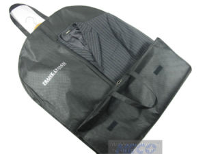 Nonwoven Foldable Garment Suit Bag with Customized Logo (MECO244) pictures & photos