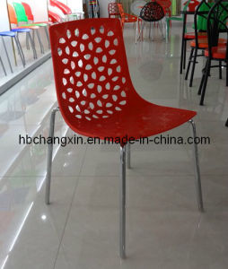 Plastic Metal Chair Modern New Style and Hot Selling Leisure Stackable Strong for Outdoor Use pictures & photos