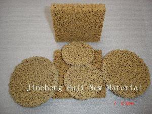 Magnesia Foam Filter