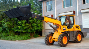 2.5ton Popular Front End Loader with Telescopic Arm pictures & photos