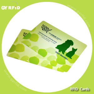 PLA environment-Friendly Card, Employee Badge (GYRFID) pictures & photos