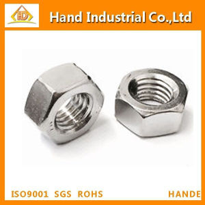 Stainless Steel Hexagon Fastener Nut pictures & photos