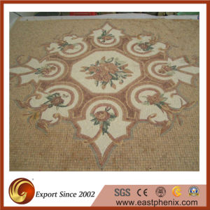 Natural Beige Stone Mosaic Tile for Wall Ile pictures & photos