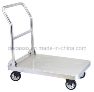 Platform Hand Luggage Cart (DF78) pictures & photos