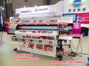 Galaxy 5FT / 6FT Original Dx5 Print Head Galaxy Eco Solvent Printer 1440dpi pictures & photos