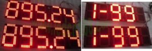 "LED Gas Pricing Sign (outdoor 10"" high)"