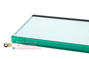 Fritted Anti-Slip Glass for Floorings pictures & photos