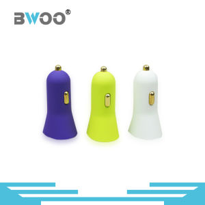 Mini Colorful Car Charger Dual Port USB Charger pictures & photos